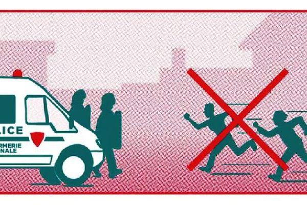 Suite aux attentats du 13 novembre 2015, le gouvernement lance une campagne de sensibilisation pour préparer les citoyens à faire face à la menace terroriste.