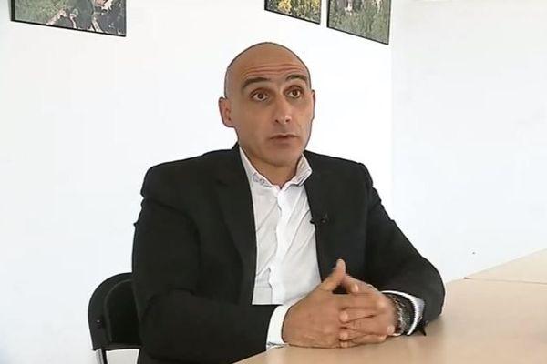 François-Marie Marchetti, président de la communauté de communes de Balagne