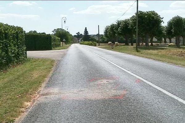 Un piéton a été mortellement fauché par un automobiliste, dans la nuit du samedi 7 au dimanche 8 juillet, sur cette route à la sortie de Gisy-les-Nobles (Yonne)