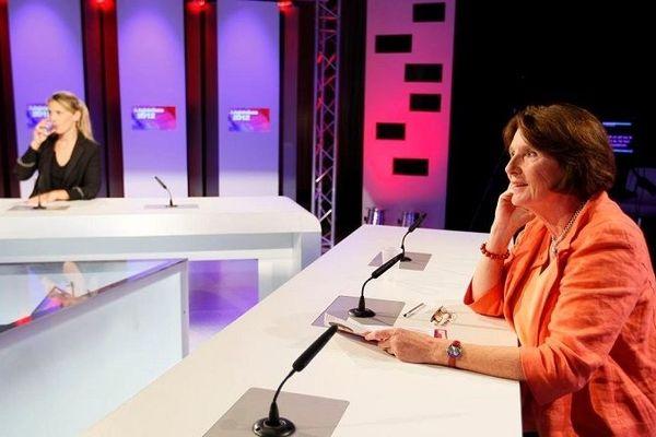 Le studio de TV Sud à Montpellier