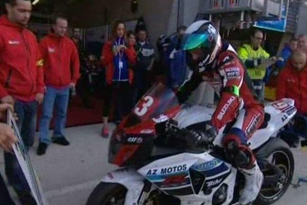 Renaud Lavillenie s'est qualifié vendredi matin. Il sera bien au départ de la 36ème édition des 24 heures du Mans ce week-end.