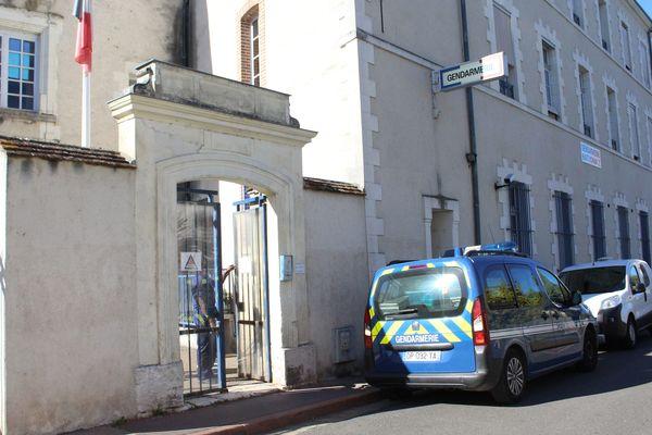 La gendarmerie de Romorantin.