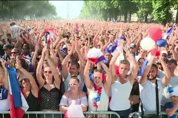 Dans la fan zone du Cours Saint-Pierre à Nantes, un homme a agressé sexuellement une jeune femme en toute impunité...