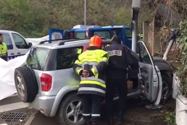 Un homme est mort dans un accident de la route à Auxerre - 8 décembre 2017