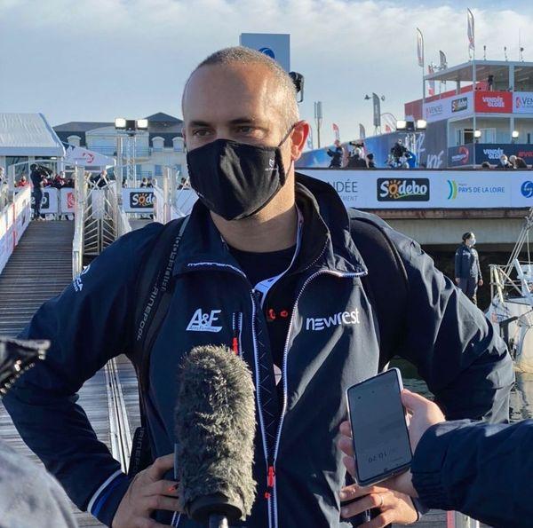 Dernière interview pour Fabrice Amedeo avant le départ ce dimanche 8 novembre