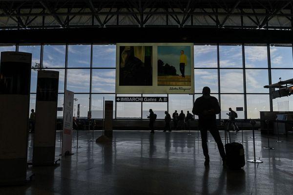 Aéroport international de Milan Malpensa le 3 avril 2021.  (illustration)