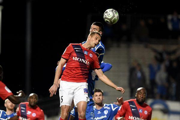Le défenseur Grégory Bourillon et ses coéquipiers de la Berrichonne de Châteauroux vont tenter de battre le Paris FC ce mercredi soir