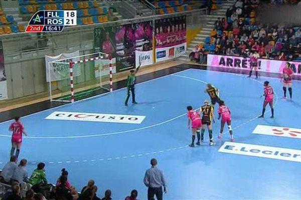 Handball : Fleury - Rostov 22-27  (17 janvier 2016)