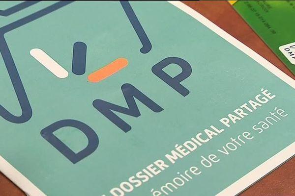 Le Dossier Médical Partagé peut être créé sur internet ou en pharmacie