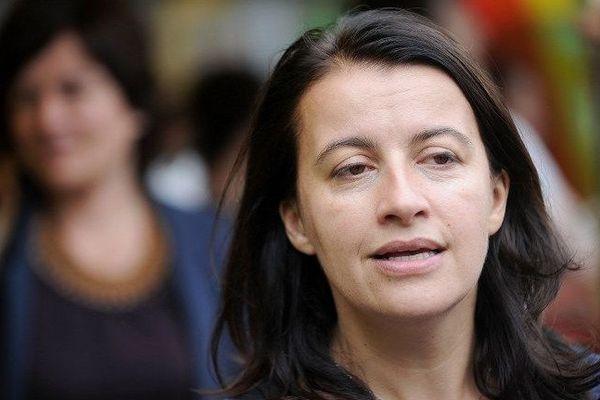Cécile Duflot, députée écologiste