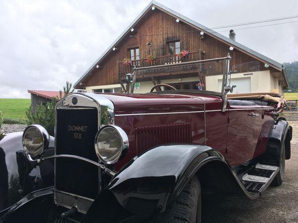 Pontarlier la cité de l'absinthe était aussi celle des voitures Donnet-Zedel