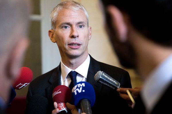 Le ministre de la Culture Franck Riester (Image d'illustration)