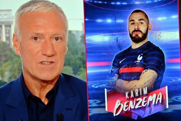 Didier Deschamp a annoncé le retour de Karim Benzema en Equipe de France ce mardi 19 mai 2021