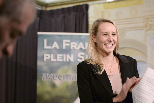 Marion Maréchal-Le Pen le soir du second tour.