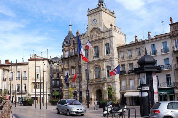 L'hôtel de ville de Béziers