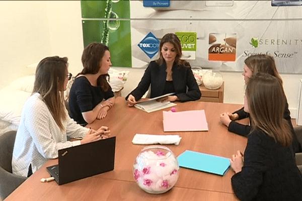 Nathalie Hagège s'est entourée de jeunes femmes, une nouvelle génération