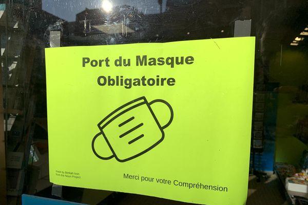 C'est la deuxième fois que le tribunal administratif de Châlons enjoint le préfet de la Marne de revoir sa copie sur l'obligation du port du masque.