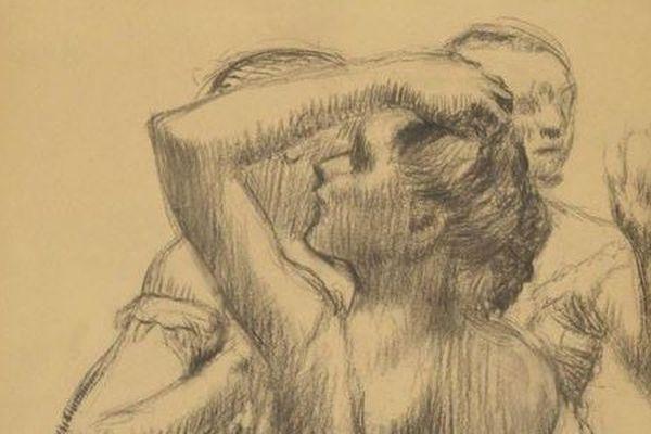 Le tableau « Trois danseuses en buste» de Degas est estimé entre 350.000 et 450.000 euros
