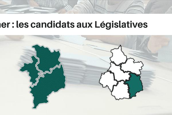 Le département du Cher compte 3 circonscriptions législatives.