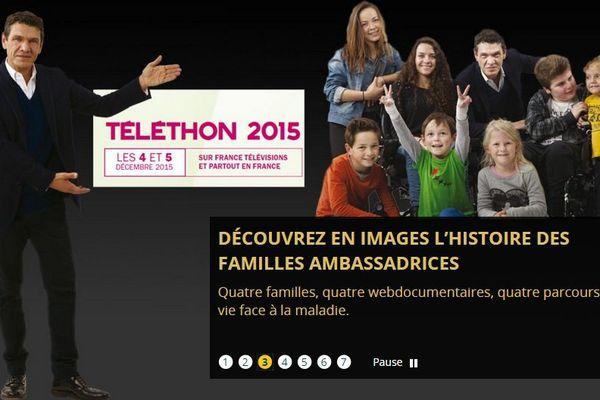 Marc Lavoine sera le parrain du Téléthon 2015.