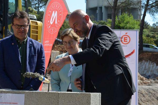 Une nouvelle vitrine pour le CFA EnSup LR de Montpellier : la construction d'une future maison de l'alternance.  Elle sera opérationnelle au début de l'année prochaine. Sa construction va de pair avec l'édification par le CROUS d'une résidence pour une centaine d'alternants.