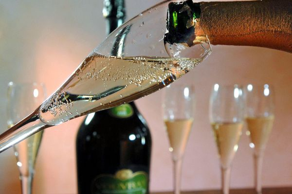 Les fines bulles de Loire dynamise les exportations de vins ligériens.