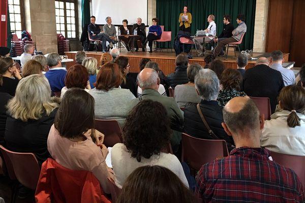 Un public nombreux est venu assister à la présentation des démarches lancées par l'association Rouen Respire.