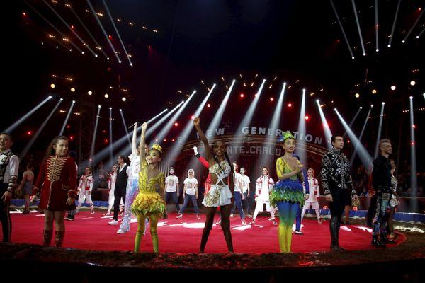 Le  1er février 2020  :  9ème Cirque New Generation de Monte-Carlo au chapiteau Fontvieille.