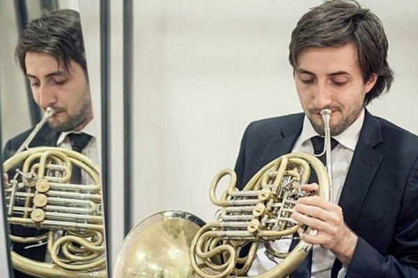 Joël Lasry est l'un des brillants cornistes du  Laetonium Horn Quartet