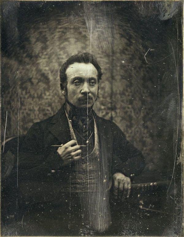 Joseph Philibert Girault de Prangey (1802-1894) a exploré toute sa vie les techniques de prise d'images les plus modernes, comme ici le daguerréotype.