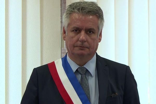 Patrice Favard, maire de Ribérac en Dordogne