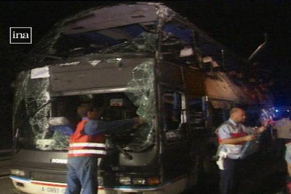 Le 10 juillet 1995, l''accident de Roquemaure a fait 23 morts et une trentaine de blessés, tous des passagers de l'autocar.