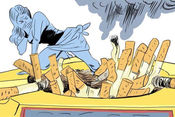 L'odeur du tabac froid est une raison qui est souvent énoncée par les fumeurs pour arrêter la cigarette