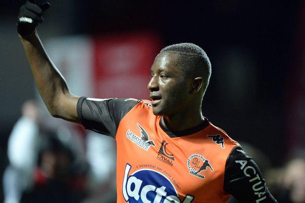 Sehrou Guirassy a assuré la victoire contre Châteauroux 1-0 en Ligue 2, 33ème journée