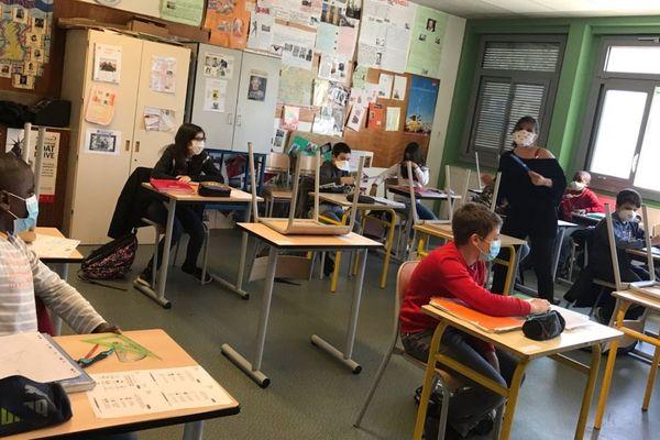 Le collège Albert Calmette à Limoges fait partie du réseau REP+