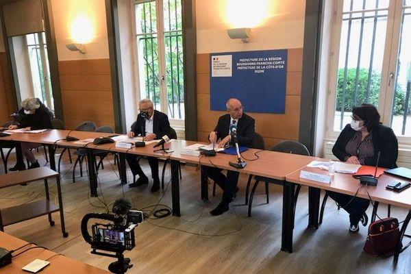 Le préfet de Côte-d'Or annonçait ce vendredi 9 octobre les nouvelles mesures en vigueur, après le passage de la métropole en zone d'alerte renforcée.