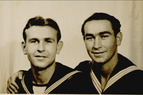 Adam et Julian Janeczko s'étaient engagés dans la marine polonaise. ils étaient dans un torpilleur le 6 juin 1944 au large de la Normandie.