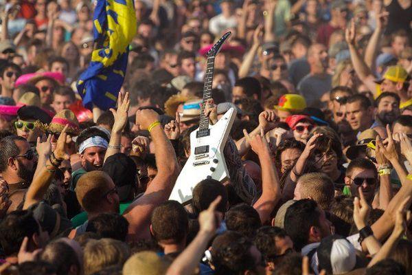 61% des recettes du festival des Eurockéennes proviennent des festivaliers ?
