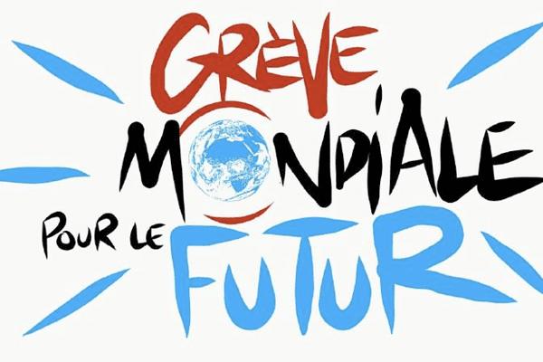 """Pour cette première """"Grève mondiale pour le futur"""", de nombreux rassemblements, ateliers et débats sont prévus toute la journée du 15 mars 2019."""