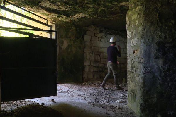 Cavité et galeries souterraines inspectées en Maine-et-Loire