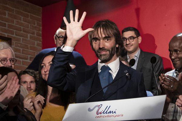 Cédric Villani lors de l'annonce officielle de sa candidature, mercredi 4 septembre.