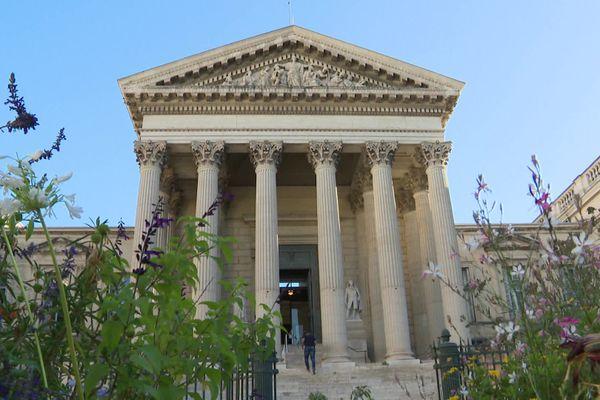 Montpellier - le palais de justice, siège de la cour d'assises et de la cour d'appel - Illustrations - 2020.