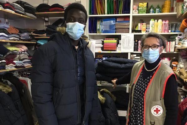 L'unité locale de la Croix Rouge à Besançon