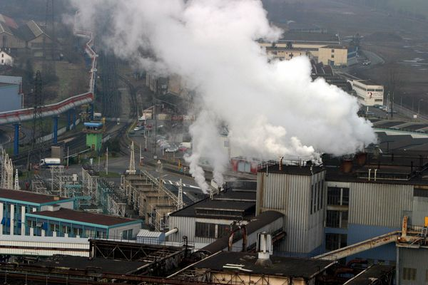 Le site sidérurgique de Florange lamine des aciers plats depuis 1948.