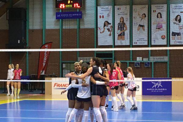 Les volleyeuses de Marcq-en-Baroeul contre Nancy-Vandoeuvre
