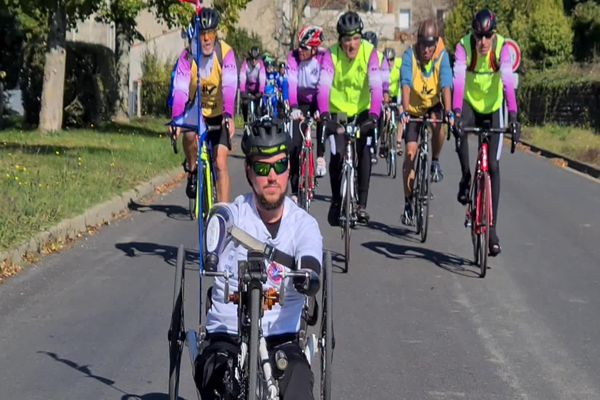 L'handi Tour de France du Niortais Franzy Rabin