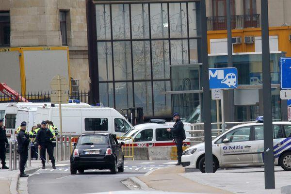 Illustration attentats de Bruxelles.
