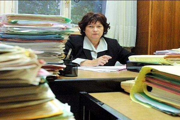 La juge Marie-Odile Bertella-Geoffroy