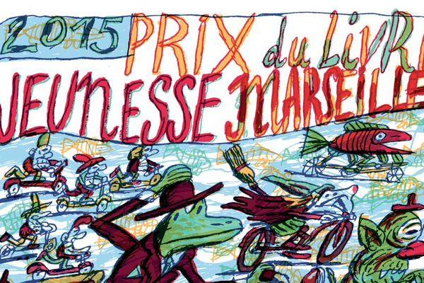 L'affiche du prix a été réalisée par le talentueux Benoit Jacques