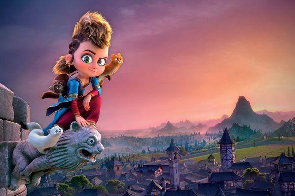 Pil, une petite orpheline de 10 ans, déguisée en princesse, est l'héroïne du nouveau long-métrage des studios toulousains TAT - 2021.